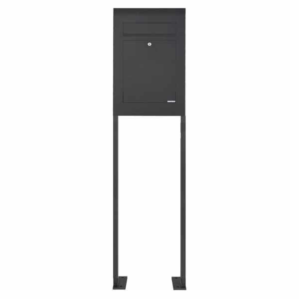 Edelstahl Standbriefkasten DESIGNER Style ST-P pulverbeschichtet