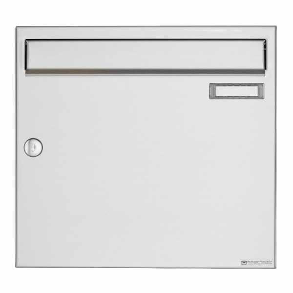Edelstahl Aufputz Briefkasten Design BASIC 382A AP