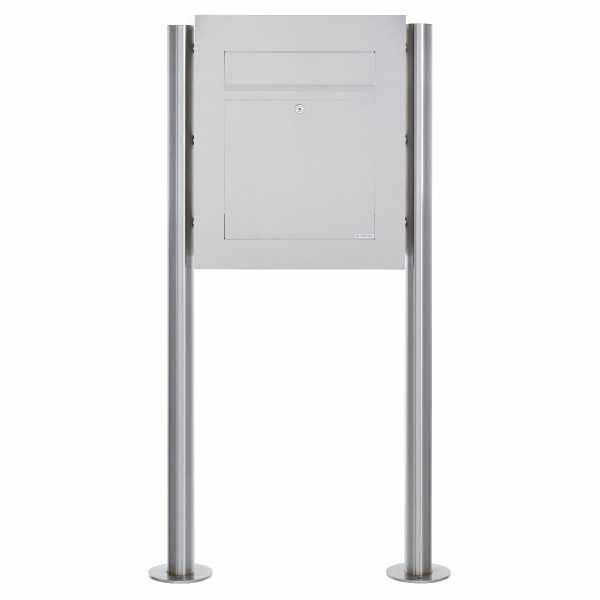 Edelstahl Standbriefkasten DESIGNER Style BIG ST-R