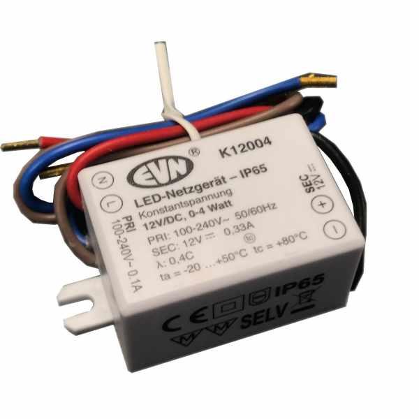 EVN LED−Netzgerät IP65 12V/DC 0,1−4W