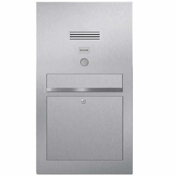 Edelstahl Briefkasten Designer Modell BIG - Clean Edition - INDIVIDUELL
