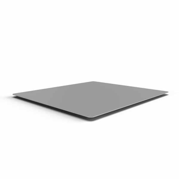 Edelstahl Tablett - Platzdecke für NOVALIS