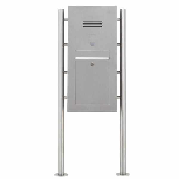 Edelstahl Standbriefkasten Designer Modell ST-R - Clean Edition - INDIVIDUELL