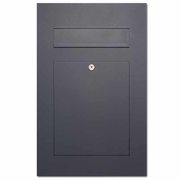Edelstahl Design Briefkasten DESIGNER Style pulverbeschichtet