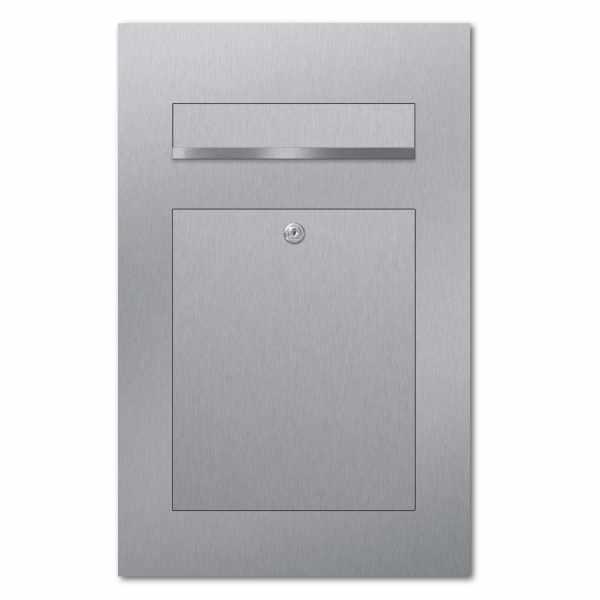 Edelstahl Design Briefkasten DESIGNER Style