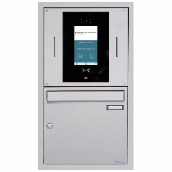 Unterputzbriefkasten BASIC Plus 382XU UP - Edelstahl geschliffen - STR Digitale Türstation