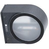 LED Wandstrahler - Wandleuchte PREMIUM aus Aluminium - RAL 7016 Anthrazitgrau