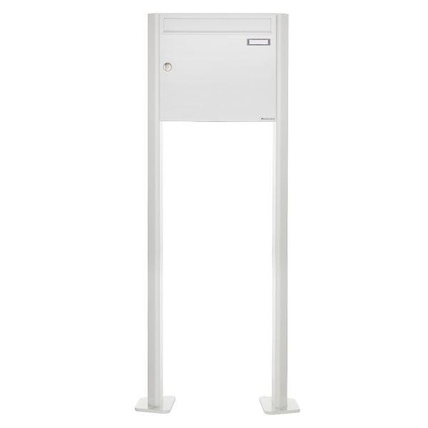 Standbriefkasten Design BASIC 380 ST-T - RAL 9016 verkehrsweiß