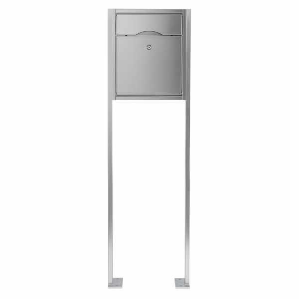 Standbriefkasten PREMIUM SMALL ST-P aus Edelstahl gebürstet