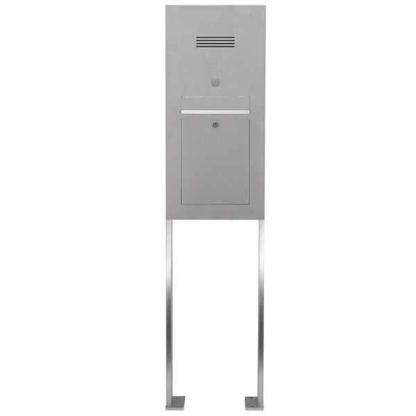 Edelstahl Standbriefkasten Designer Modell ST-P - Clean Edition - INDIVIDUELL