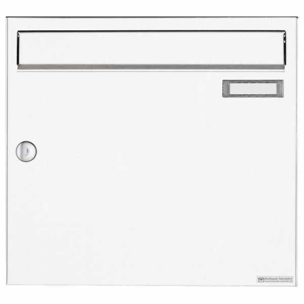 Aufputz Briefkasten Design BASIC 382A AP - RAL 9016 verkehrsweiß