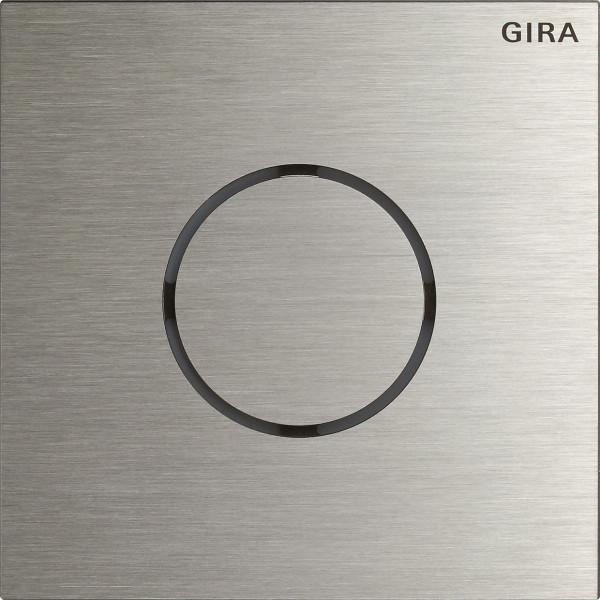 Gira System 106 Sprachmodul, Edelstahl