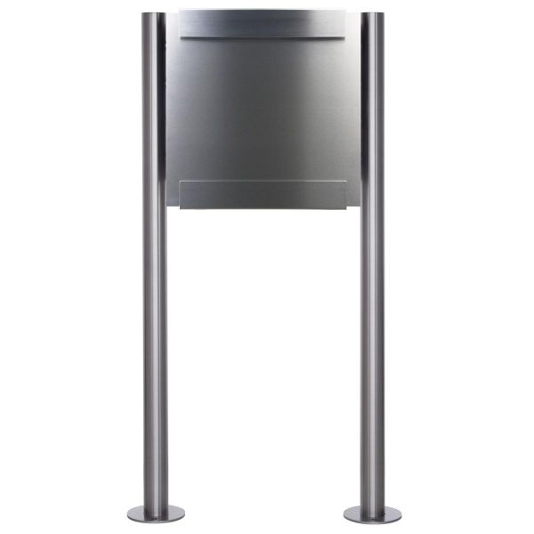 Design Standriefkasten KEILBACH glasnost metal ST-R aus Edelstahl gebürstet
