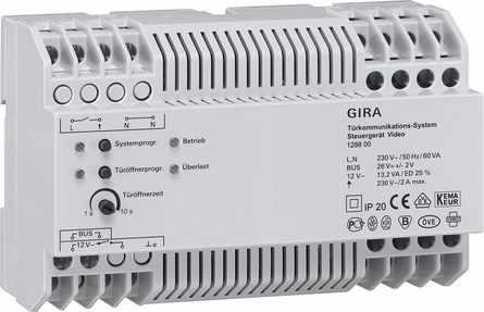 Gira Steuergerät Video REG 128800