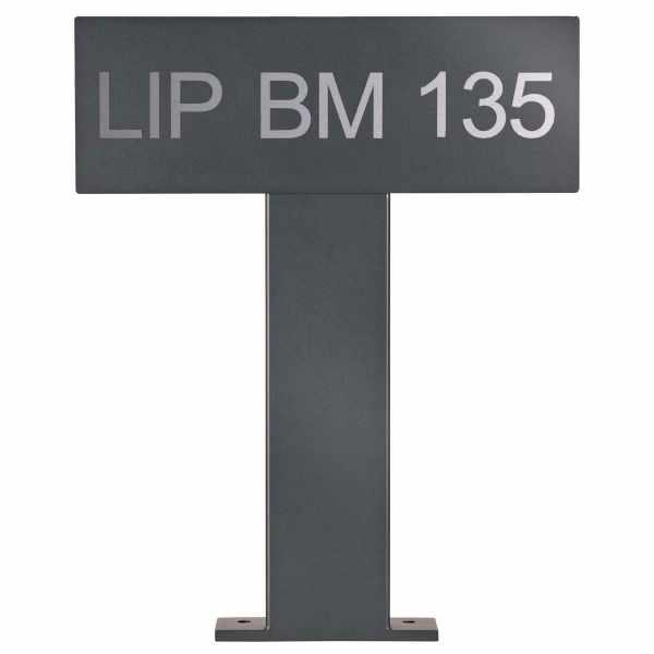 Parkschild - Parkplatzkennzeichen freistehend 500 BASIC 391 - RAL nach Wahl