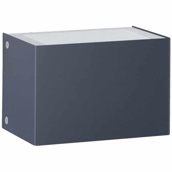 Design Wandleuchte KEPLER SMALL 150x105 - 2-seitig - Edelstahl pulverbeschichtet - RAL nach Wahl