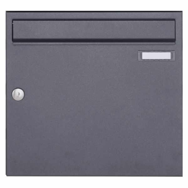 Aufputz Briefkasten Design BASIC 382A AP - DB703 eisenglimmer