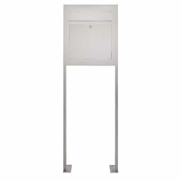 Edelstahl Standbriefkasten DESIGNER Style BIG ST-P