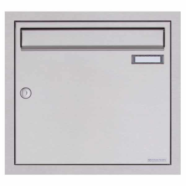 Edelstahl Unterputzbriefkasten BASIC Plus 382XU UP - Edelstahl geschliffen