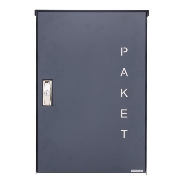Aufputz Paketkasten BASIC 863 AP - Paketfach 550x370 in RAL 7016 anthrazitgrau