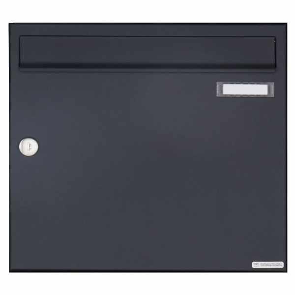 Aufputz Briefkasten Design BASIC 382A AP - RAL 7016 anthrazitgrau