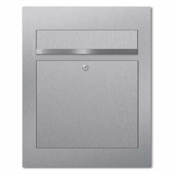 Edelstahl Design Briefkasten DESIGNER Style BIG
