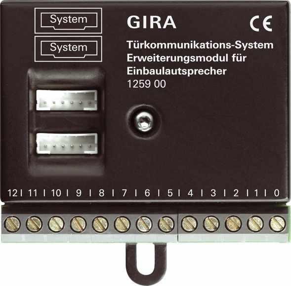 Gira Erweiterungsmodul für Einbaulautsprecher