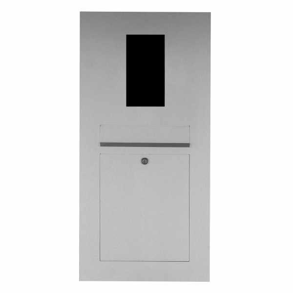 Edelstahl Briefkasten Designer - GIRA System 106 - 2-fach vorbereitet