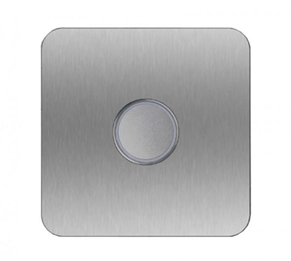 Edelstahl Klingelplatte Designer LED - QUAD 100