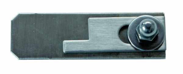 Klappenverschluss aus Edelstahl für BASIC Aluminium- und Edelstahl-Anlagenklappen in Türen