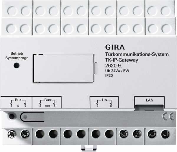 Gira TKS-IP-Gateway für die mobile Türkommunikation - 20 Lizenzen