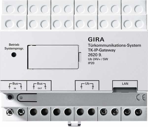Gira TKS-IP-Gateway für die mobile Türkommunikation - 5 Lizenzen